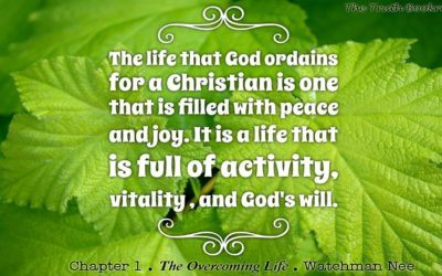 The Life that God has ordained for a Christian