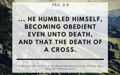 To Live A Crucified Life