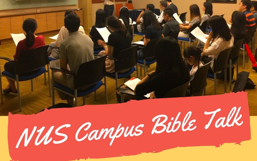Bible Talk on campus