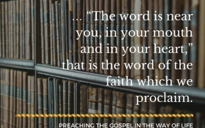 Speaking the Word as the Living Spirit